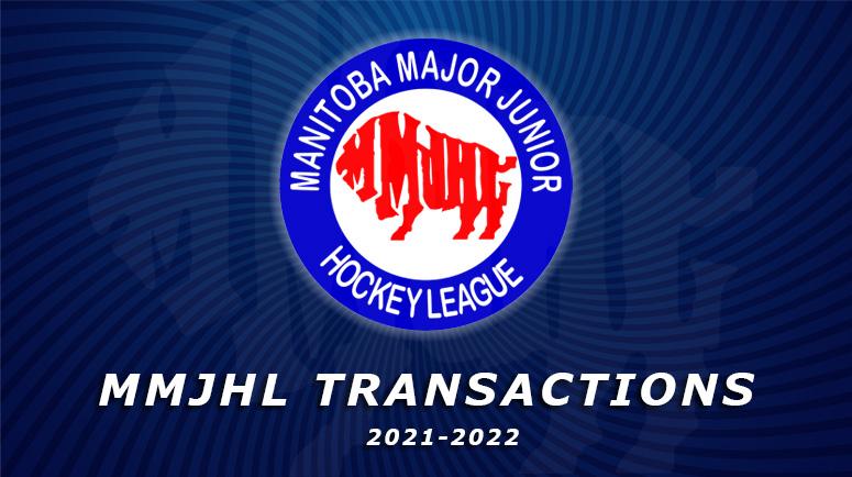 MMJHL Transactions 2021-2022