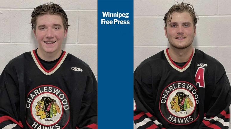 Winnipeg Free Press Article on the Charleswood Hawks